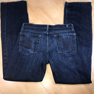 Girls 7 For All Mankind Distressed Relaxed Jeans
